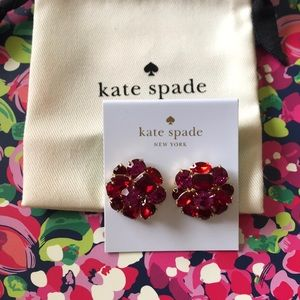 Kate spade cluster stud earrings